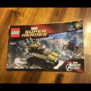 LEGO Marvel Super Heroes Instruction Manual ONLY
